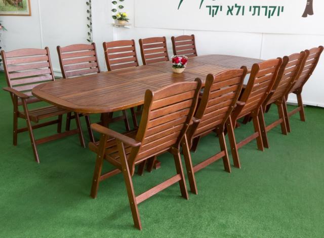 שולחן עץ להגדלה