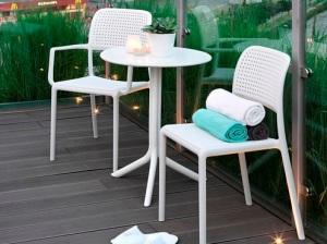 ריהוט למרפסת, ריהוט גן - כסאות פלסטיק ושולחנות מעוצבים ועמידים ומתוצרת איטליה